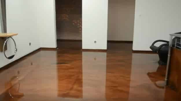 Concrete Services - Epoxy Flooring Blue Inlet